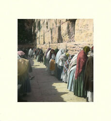 American Colony Jerusalem Photographic Reproduction-wailing Wall