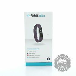 New Fitbit Fb406pms Alta Activity Fitness Tracker In Plum - Small 5.5 - 6.7