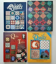 Lot Books Gallery Of American Quilts American Quilts And Coverlets Antique Textile