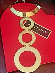 Givenchy Necklace Show Stopper Vintage Signed Stunning