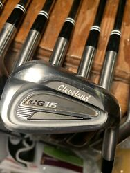 Tour Issued Cleveland Cg16 Tour Iron Set 3-pw. Great Cons. Right Hand Stiff