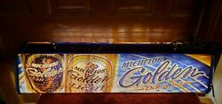 Michelob Golden Draft Beer Hanging Pool Table Light