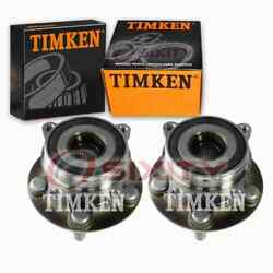 2 Pc Timken Front Wheel Bearing Hub Assembly For 2012-2015 Toyota Prius Zf