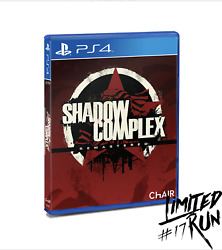 Shadow Complex Remastered Ps4 Playstation 4 Limited Run Games 17 Lrg Sealed