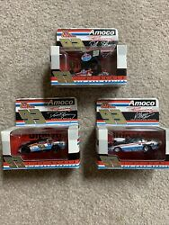 Lot Of 3 Amoco Racing Champions 93 Die Cast Cars 164 Scale Year 2000 New