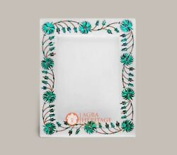 Picture Frames / Photo Frame Alabaster Marble Inlay Malachite Collage Frames Art