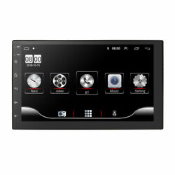 Android 9.1 Double Din Car Stereo Radio Gps Sat Nav Uk Maps 7 Touch Screen Wifi