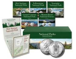 Coins Of America National Parks Quarter Complete Boxed Set - All 56 Collections
