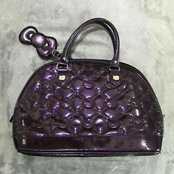 Preowned Hello Kitty Sanrio Purple Satchel Handbag $49.99