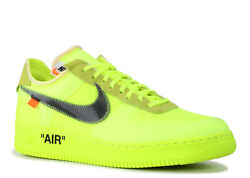Nike The 10 Nike Air Force 1 Low And039off Whiteand039 - Ao4606-700 - Size 9.5