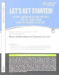 Mindtap Business Law, 1 Term 6 Months Printed Access Card For Mann/roberts Smi