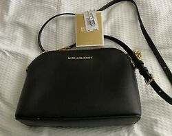 Michael Kors Jetset Cindy Crossbody Sm Black $55.99
