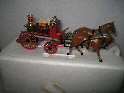 Matchbox Collectibles Ysfe05-m 1880 Merry Weather Horse Drawn Fire Engine No Box