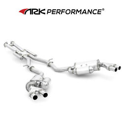 Ark Performance Grip Exhaust System For 2018-2021 Kia Stinger 3.3l Gt Gt1 Gt2