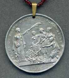 1677 English American Indian Peace Medal