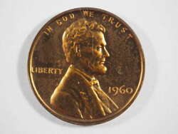 1960 P Lincoln Memorial Penny Proof Pf Cent Us Coin - Sku 32-0024-usp-pr