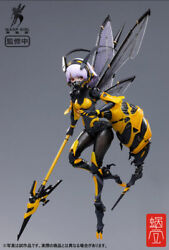 Bee-03w Wasp Girl Bun-chan 1/12 Completed Action Figure Psl Ltd Jp