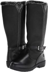 totes Women#x27;s Esther tw bl Snow Boot Black Size 10.0 6MoF $55.20