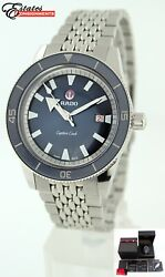 Rado Captain Cook Automatic Blue Dial Stainless Steel 42mm Men's Watch