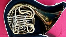 Holton H180 Professional Model Double French Horn In Carry Case Serial 588678