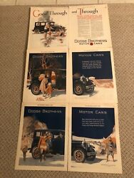 3 Dodge 2 Page Ads 1920and039s