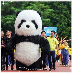2.6m/3m Inflatable Panda Bear Mascot Costume Advertising Adult Dress Outfit 2020