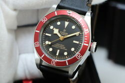 Auth Tudor Watch Heritage Black Bay 79230r Automatic Case 41mm Chronometer F/s