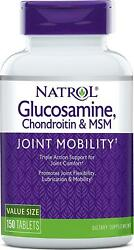 Natrol Glucosamine Chondroitin And Msm Tablets 150-count
