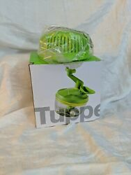 Nib, Tupperware Time Savers Quick Chef Pro System And Separate Bowl, Green