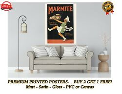 Vintage Marmite 1920's Food Ad Art Large Poster Print Gift A0 A1 A2 A3 A4 Maxi