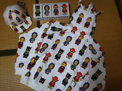 Rare Bathing Ape Bape Dc Comics. Special Collaboration Sweat Hoodie Figure