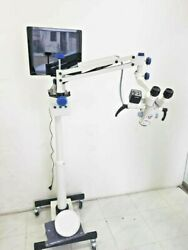 Mars Ce Iso Certified Exclusive Technology 3 Step Ent Microscopes 5x 10x 20x