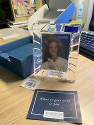 Marquis By Waterford Crystal 2000 Graduation 2-3/8 X 3-1/4 Picture Frame