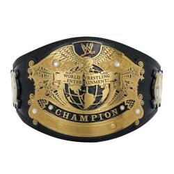 Official Wwe Authentic Undisputed Championship Deluxe Replica Title Belt