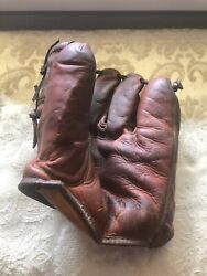 1950and039s Vic Power Franklin Baseball Glove Kansas City Athletics