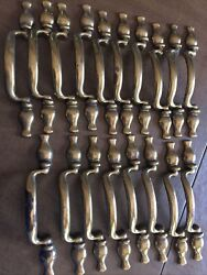18 Amerock Metal Brass Cabinet Drawer Pull Handle F0-3899-001 Matches 63898