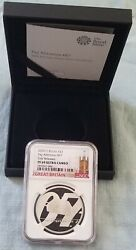 2020 Uk 007 Bond 1oz Silver Pay Attention Ngc Pf69 Uc First Releases