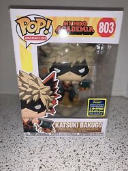 Funko Pop 803 Katsuki Bakugo My Hero Academia Mha 2020 Sdcc Shared Exclusive