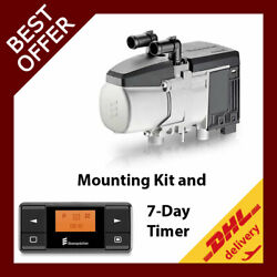 Eberspacher Hydronic D5e Cl 12v Diesel Coolant Heater Mounting Kit 7-day Timer