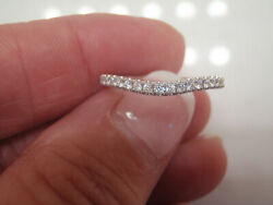 Leo Bridal Collection 1/5th Ctw Contoured Diamond Band Ring 14k Wg 899.99 5.25