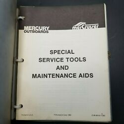 Mercury Outboards Mercruiser Special Service Tools And Maintenance Aids Book Vtg