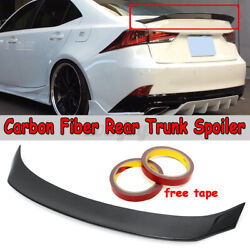 Carbon Fiber Rear Trunk Spoiler Ar Style For Lexus Is200t Is250 Is350