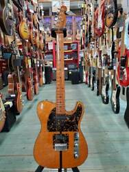 Used '70s Bill Lawrence Bt2-m Mad Cat Natural Telecaster Maple Fb