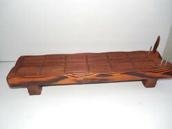 Vintage Witco Inspired Mid Century Modern Cribbage Board Large 20 7/8