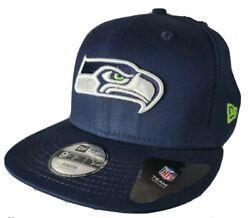 Nfl Seattle Seahawks Embroidered 9fifty Snapback Youth Hat Nfl Flat Bill Nwt