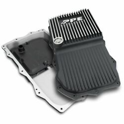 Ppe Brushed Aluminum Deep Trans Pan For 2018+ Jeep Wrangler/gladiator 850re