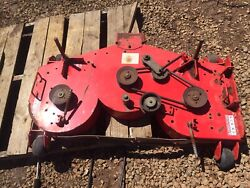 """Oem Gravely 04921253 Pro Steer Walk Behind 48"""" Complete Deck Assembly With Cover"""