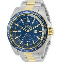 Speedway Menand039s Two-tone Automatic Exhibition Back Tachymeter Watch 30521