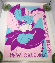 K. Joffrion Perry Artists 1979 Mardi Gras New Orleans Limited Edition Poster