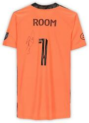 Eloy Room Columbus Crew Signed Match-used 1 Coral Jersey - 2020 Mls Season